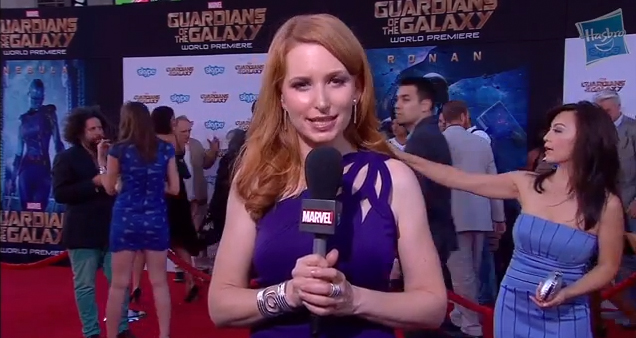The Guardians of the Galaxy Movie Premiere